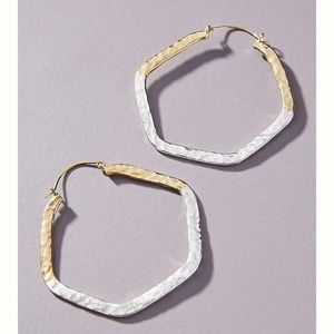 Lena Bernard Angle hooped Earrings
